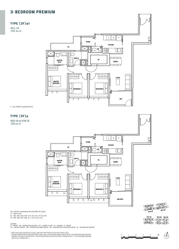 Penrose 3-Bedroom Premium