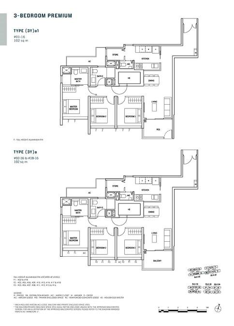 Penrose 3-Bedroom Premium