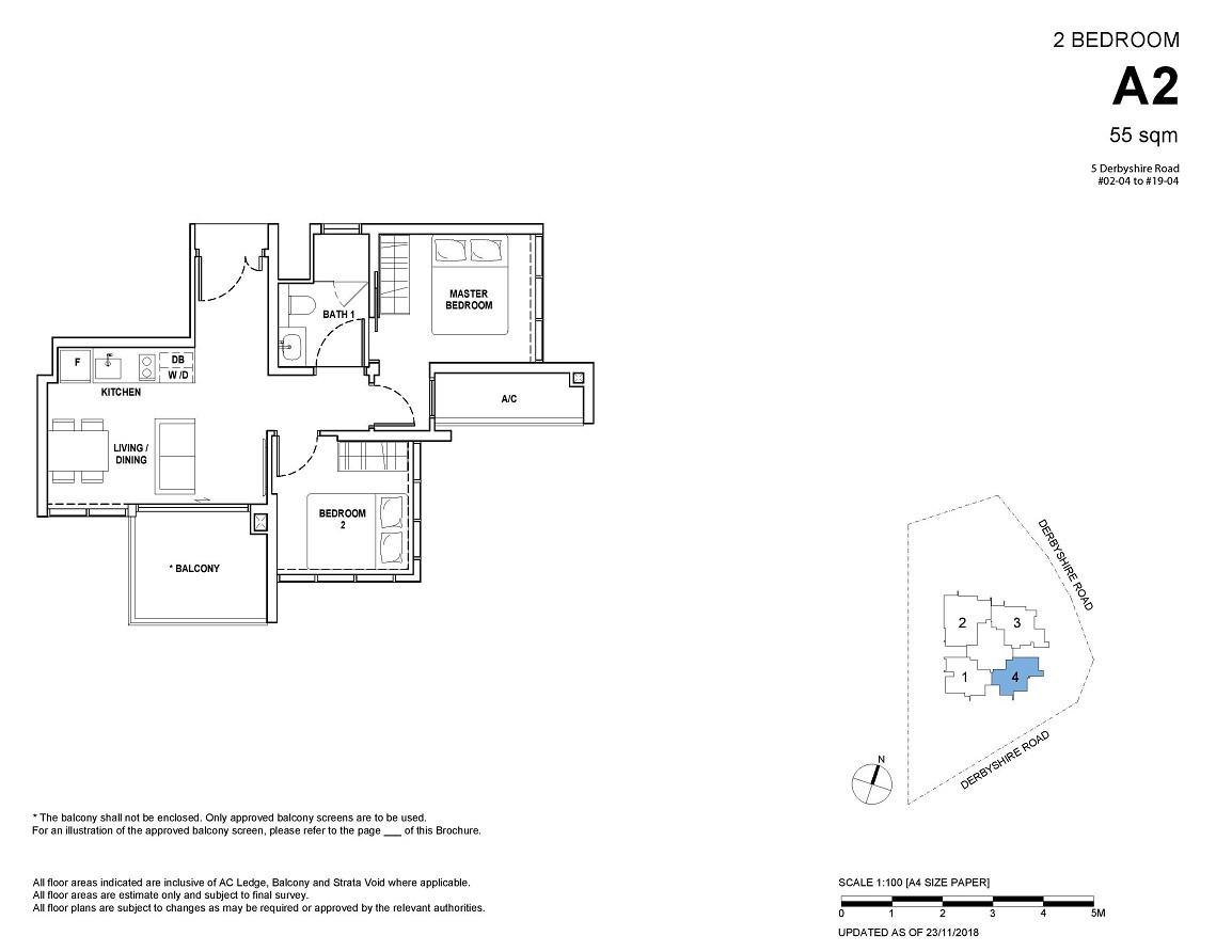 2-bedroom Type A2