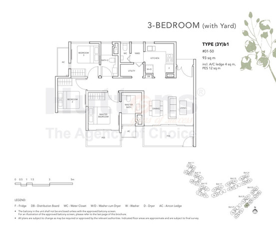 The Jovell 3 Bedroom with yard