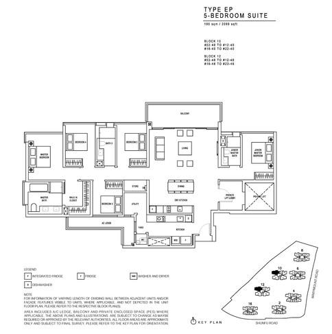 JadeScape 5 Bedroom Suite