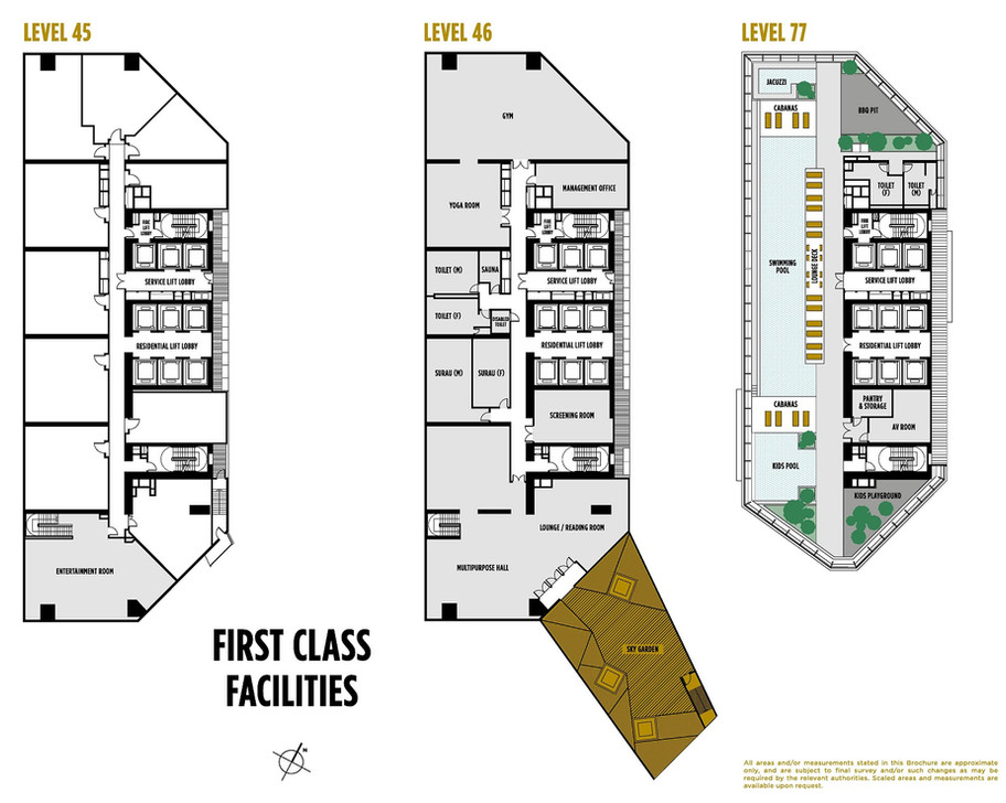 SO Sofitel Residences Facilities Plans.j