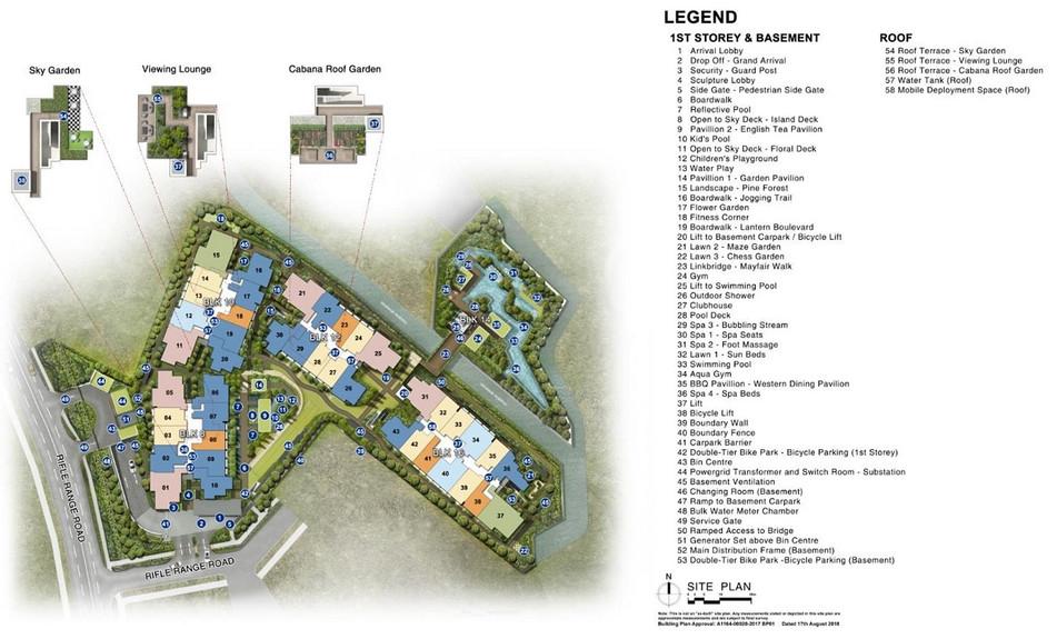 Mayfair Gardens Site Plan