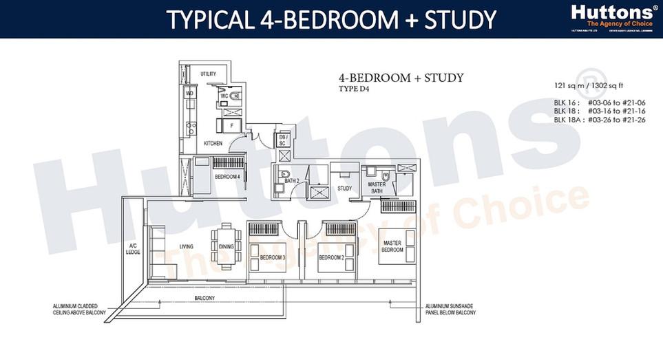 Amber Park - 4 Bedroom Study