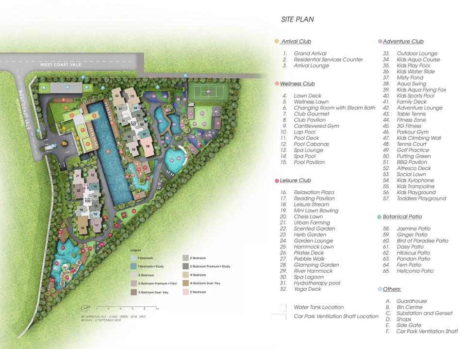 Whistler Grand Site Plan