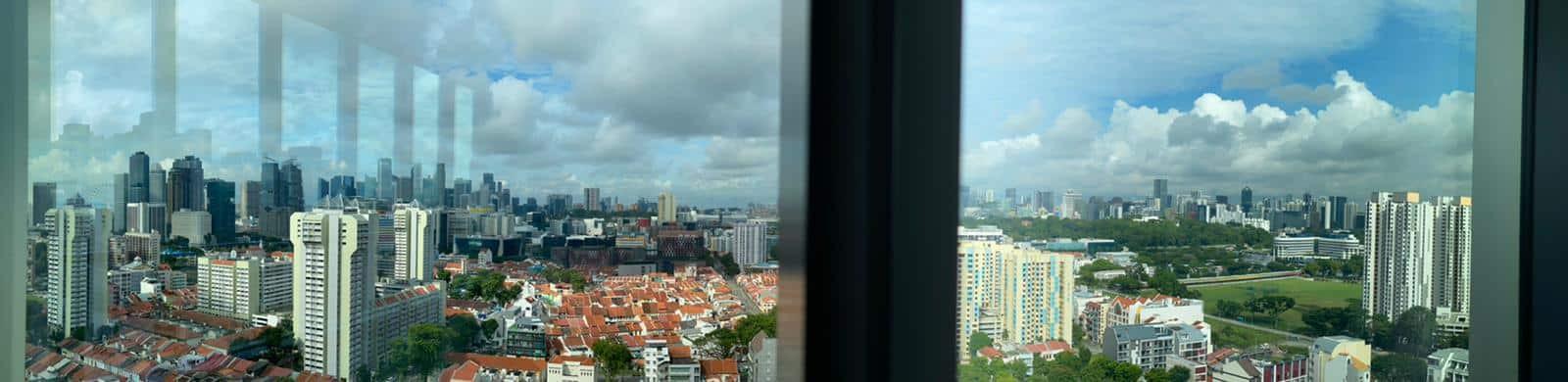CBD view from Centrium Square