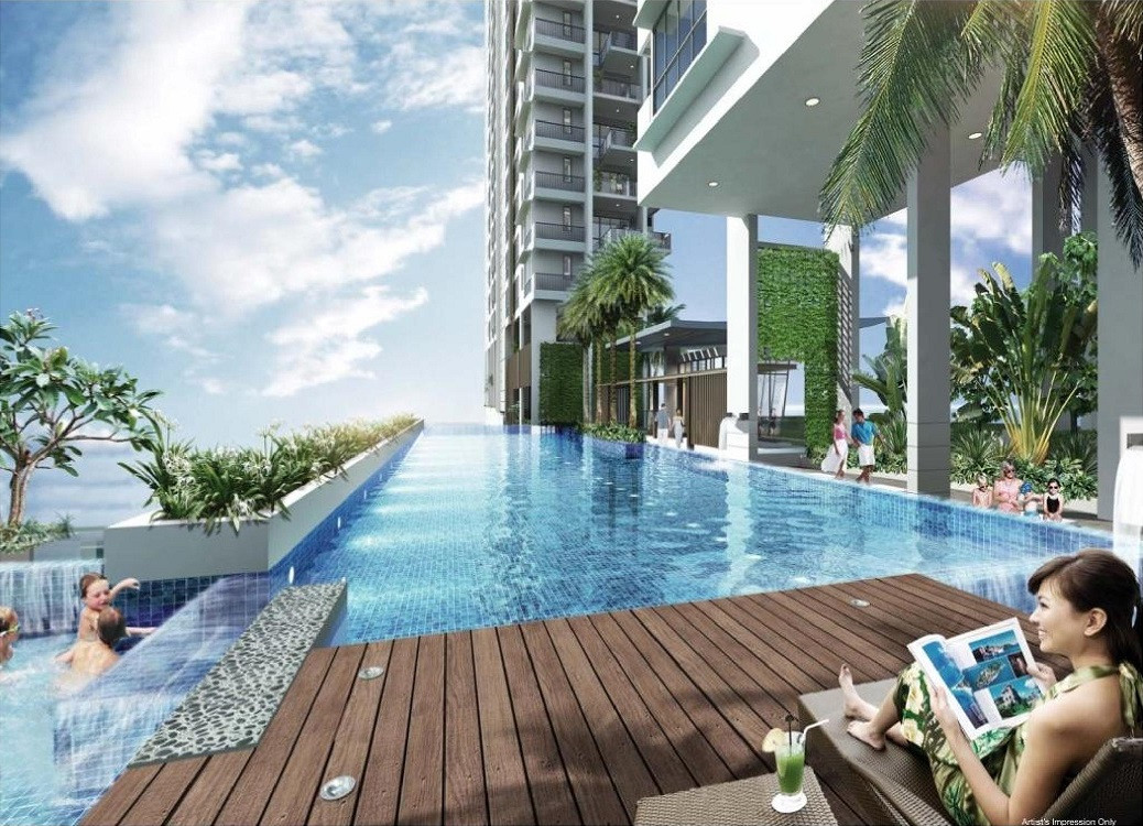 The Line @ Tanjong Rhu Pool Deck
