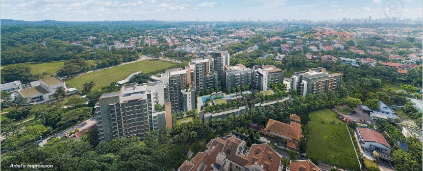 Aerial View of Fourth Avenue Residences