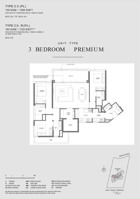 Meyer Mansion 3 Bedroom Type C3 (PL)
