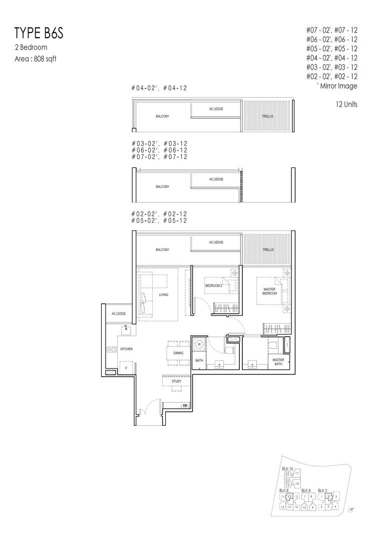 Kandis Residence 2+S Type B6S