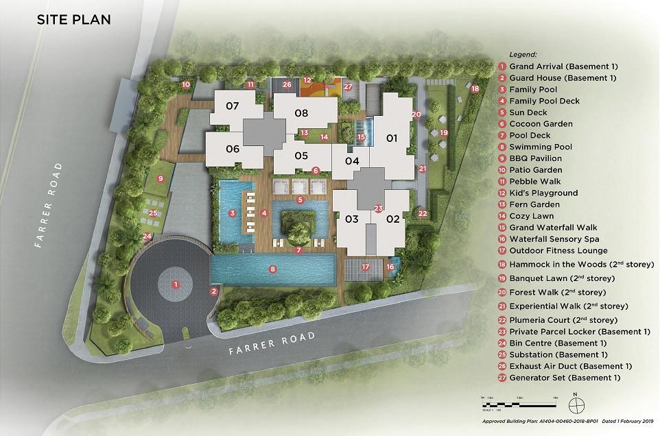Site Plan - Landscape Deck