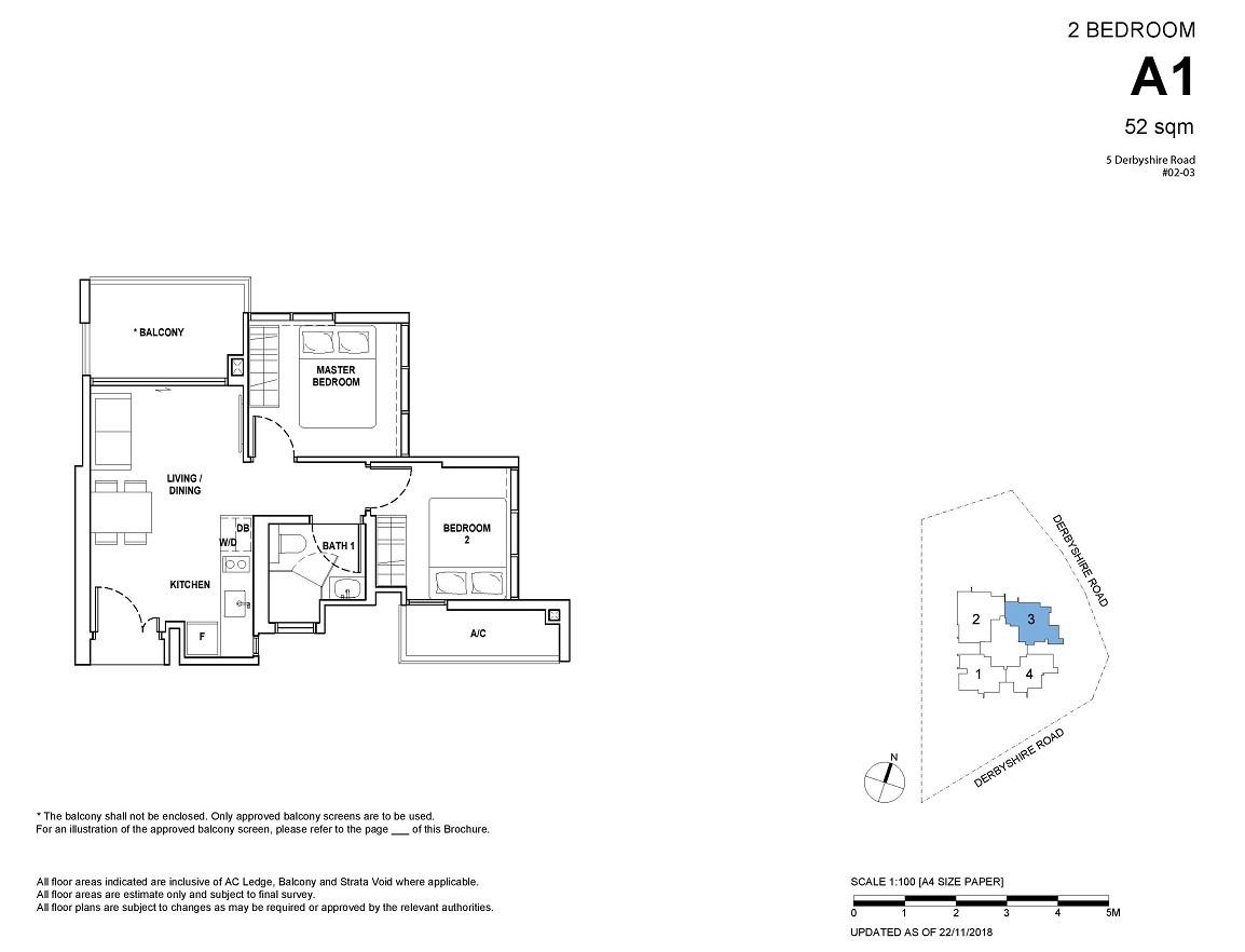 2-bedroom Type A1
