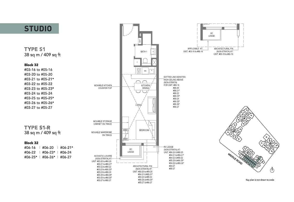 The M condominium showflat Studio