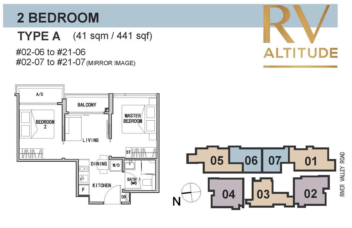 RV Altitude 2-Bedroom Compact