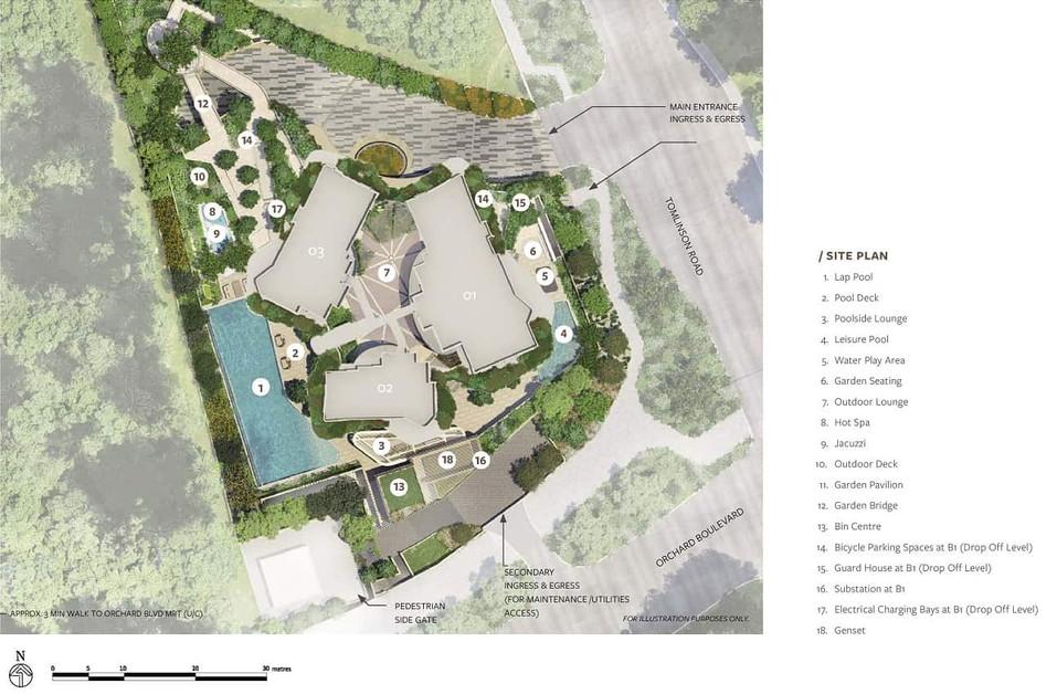 Park Nova Site Plan