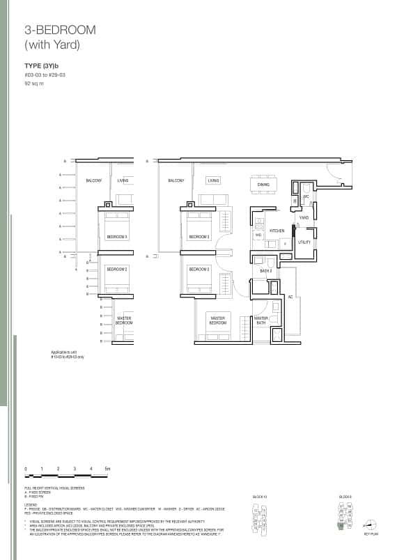 Midwood at Hillview Rise 3 Bedroom Yard.