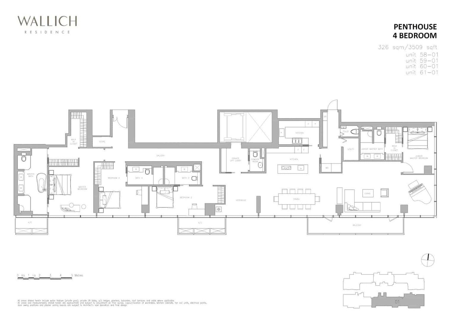 Wallich Residence Type PH