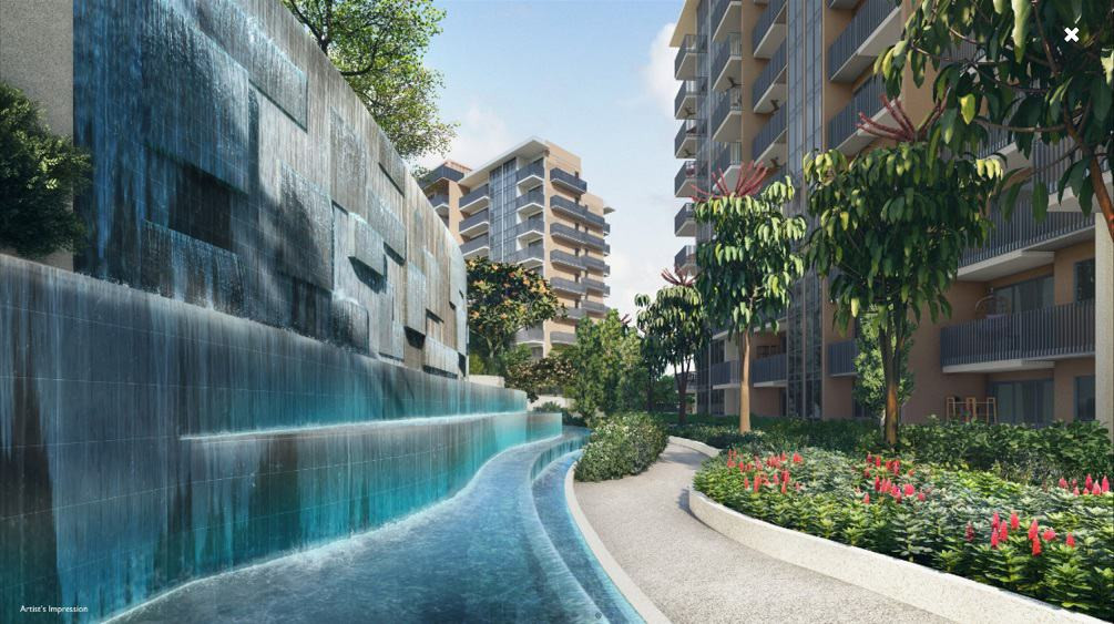 Sengkang Grand Residences Water Weir Wal