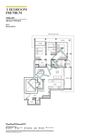 Canninghill Piers 3-Bedroom