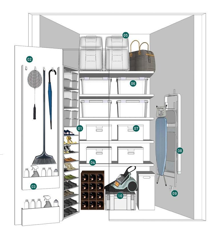 Seaside Residences Storage - LIVCLO