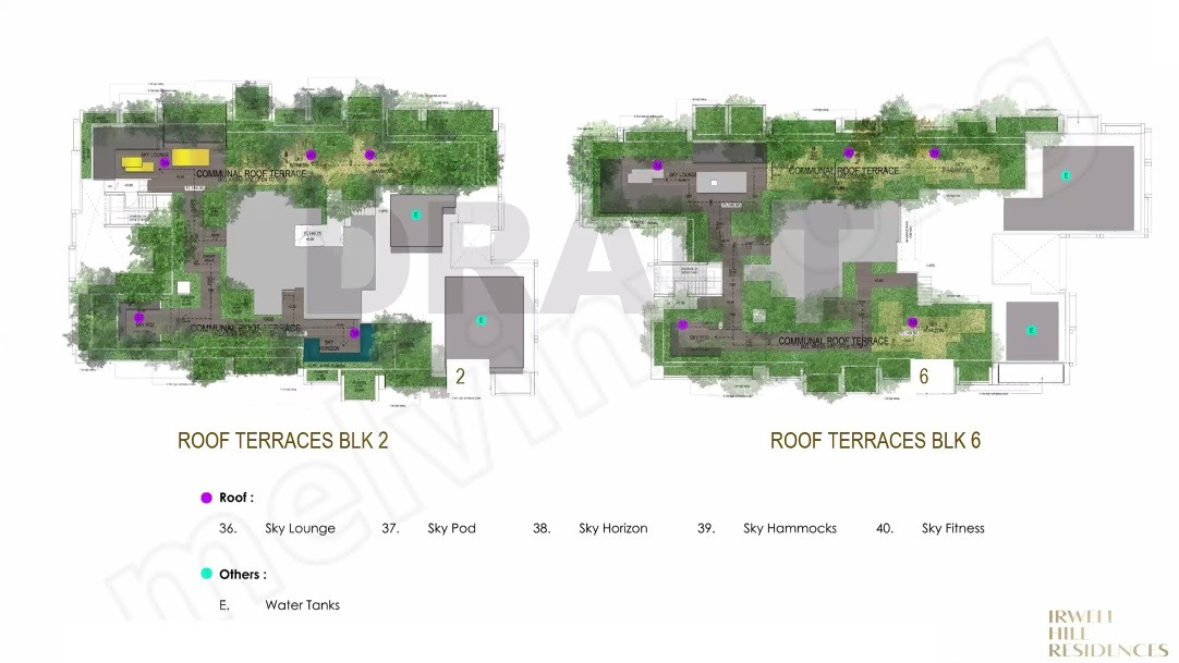 Irwell High Residences - Roof Terraces
