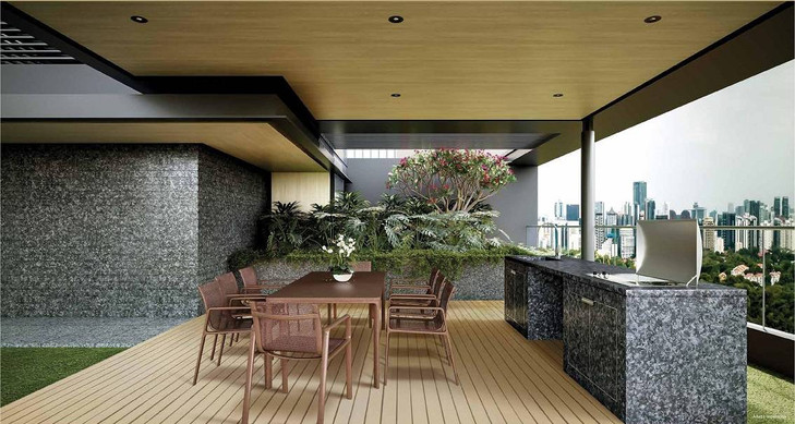 Cairnhill 16 Roof Terrace