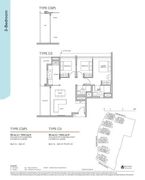 Pasir Ris 8 3-Bedroom