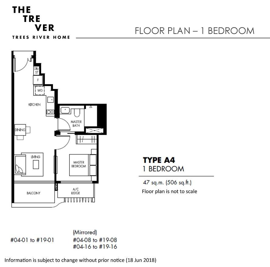 The Tre Ver - 1 Bedroom