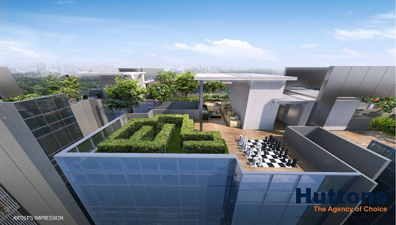 Wilshire Residences Roof Terrace
