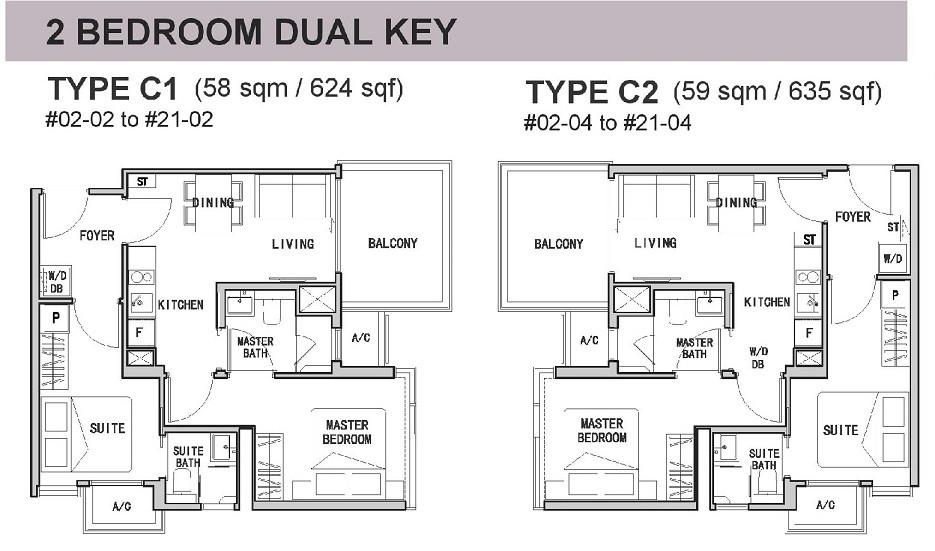 RV Altitude 2-Bedroom Dual Key