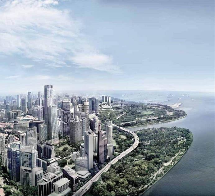 Wallich Residence - Singapore Skyline