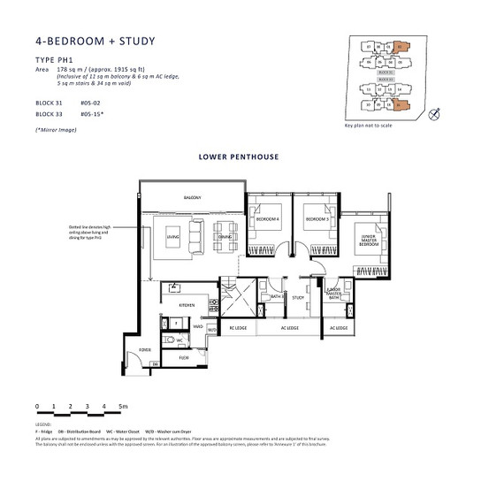 4 Bedroom + Study PH (1)