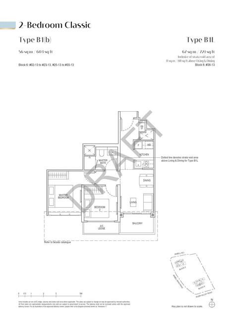 Irwell High Residences 2-Bedroom - Type B1b