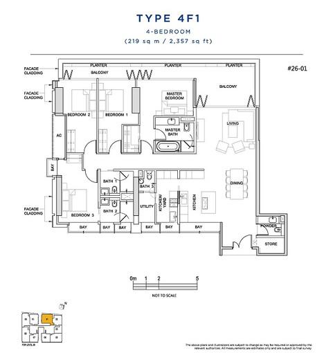 4 Bedroom Type 4F1