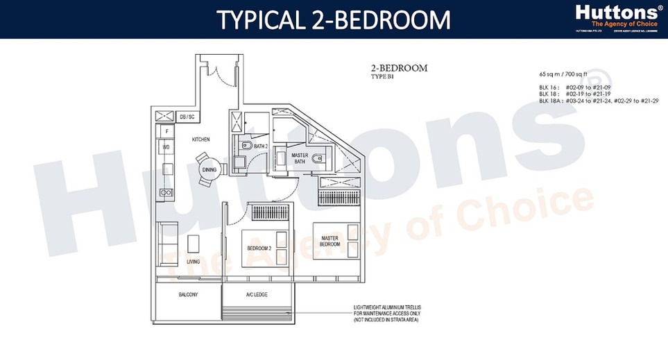 Amber Park - 2 Bedroom