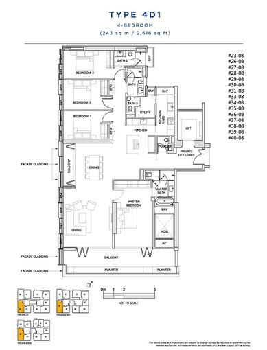 4 Bedroom Type 4D1