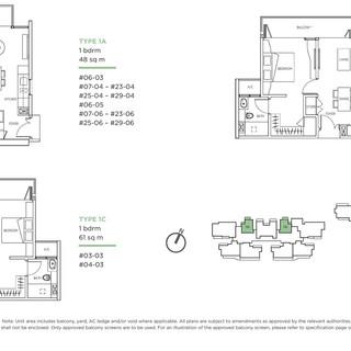 Kallang Riverside 1 Bedroom