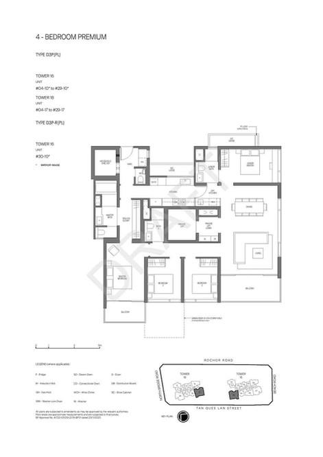 Midtown Modern - 4 Bedroom Premium