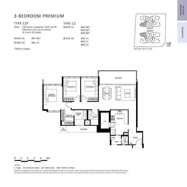 3 Bedroom + Study