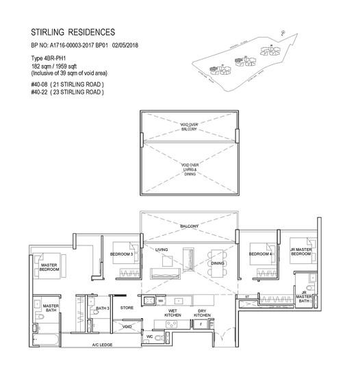 Stirling Residences 4 Bedroom Penthouse