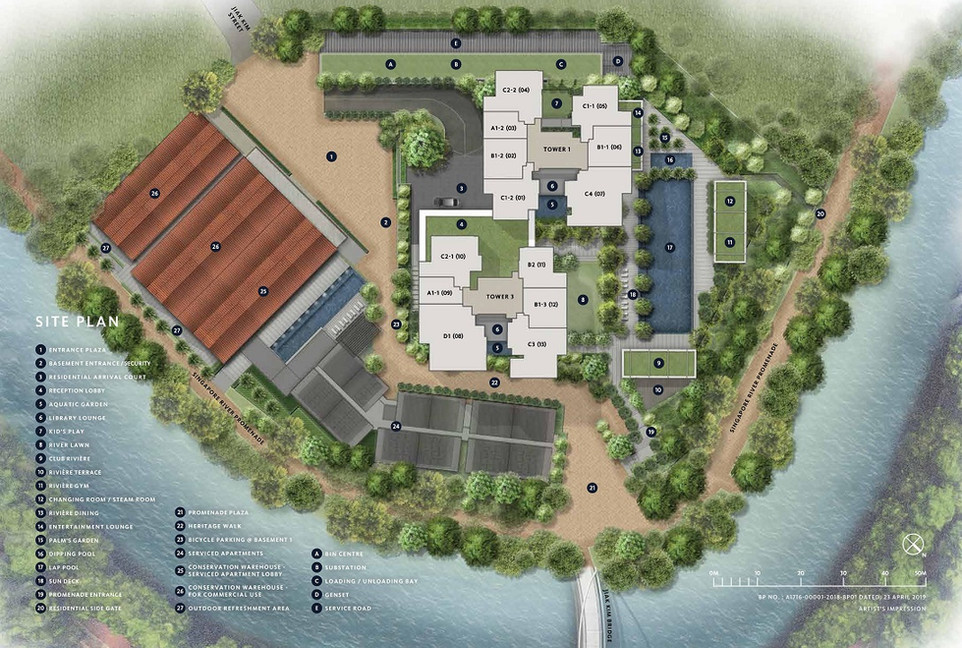 Rivière 瑞雅嘉苑 Site Plan