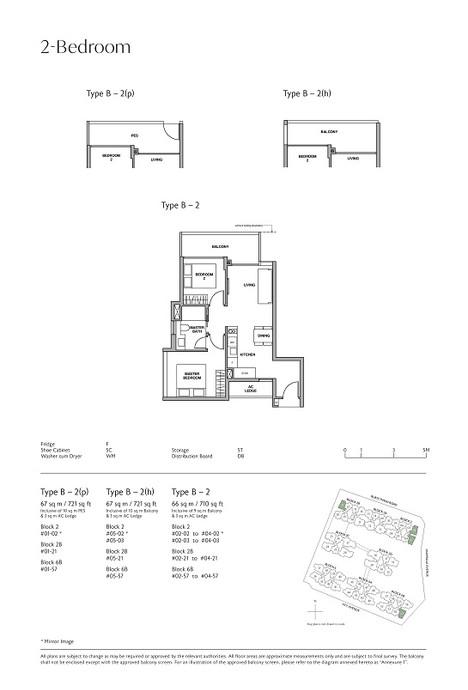 Royalgreen 2-Bedroom