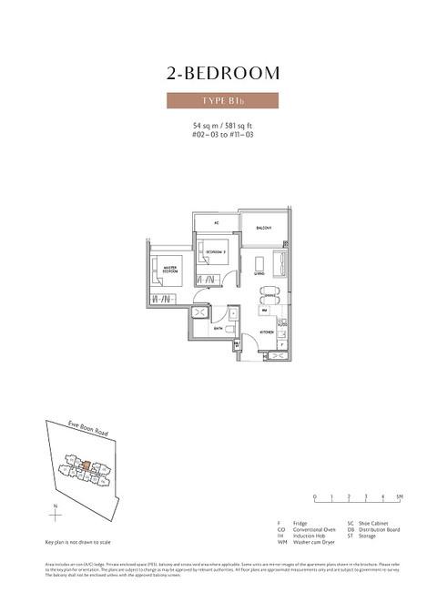 Juniper Hill 2 Bedroom Type B1b