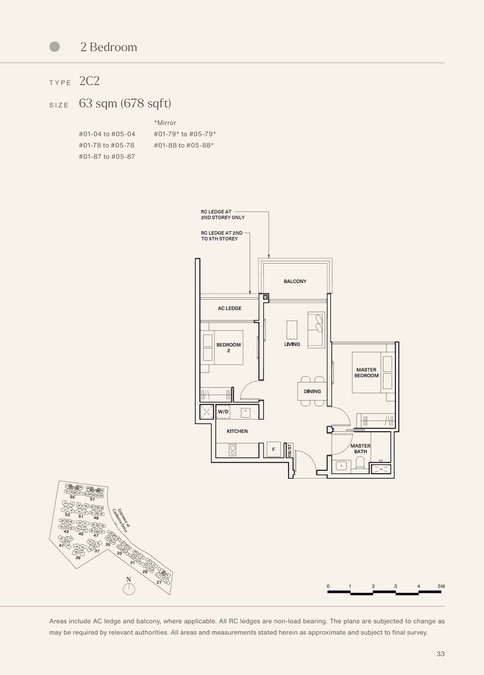 The Watergardens at Canberra 2 Bedroom