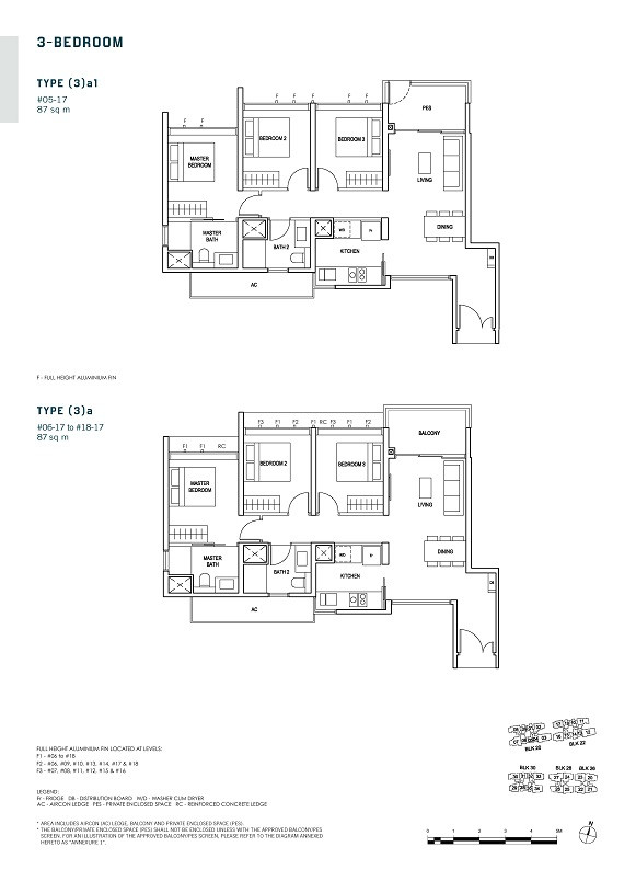 Penrose 3-Bedroom