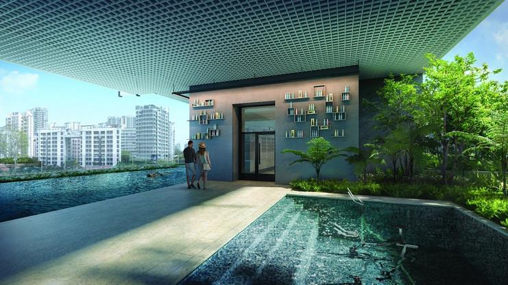 Jui Residences Swimming Pool & Aqua Fitn