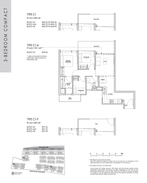 3 Bedroom Compact