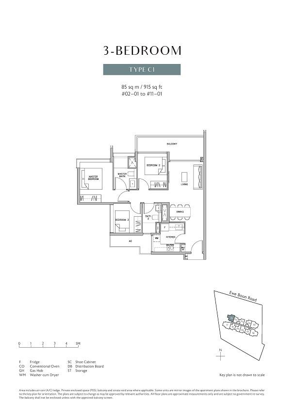 Juniper Hill 3 Bedroom Type C1