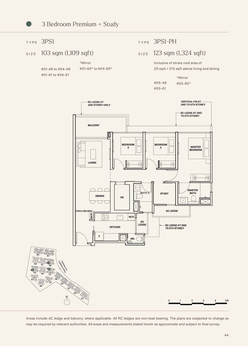 The Watergardens at Canberra 3 Bedroom Premium + Study