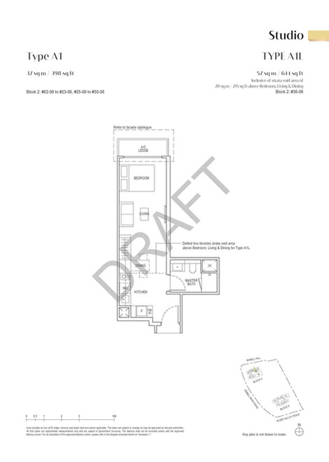 Irwell High Residences Studio